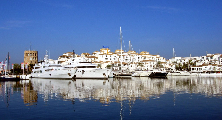 Puerto Banús - the largest and most famous marina in Marbella